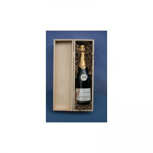 "Coffret bois ""Prestige"" 1 bouteille"